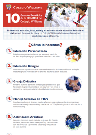 10-beneficios-primaria-Colegio-williams